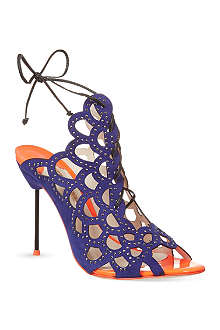 SOPHIA WEBSTER Greta studded cut-out stilettos