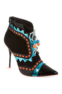 SOPHIA WEBSTER Riko pointy heeled boots