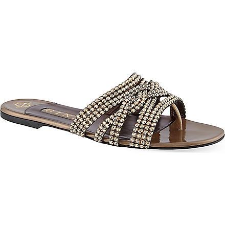GINA Cassandra sandals (Bronze