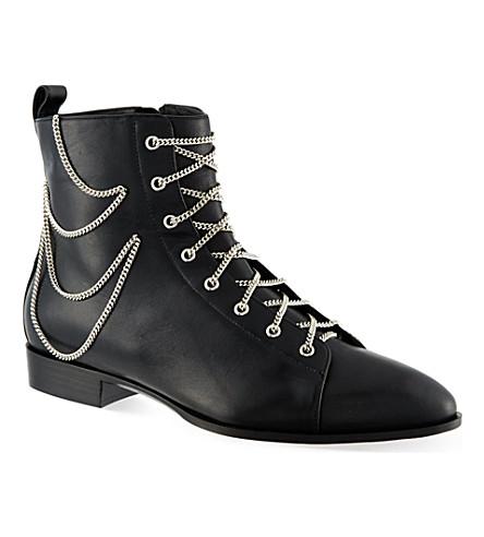 GIUSEPPE ZANOTTI Somerville ankle boots (Black