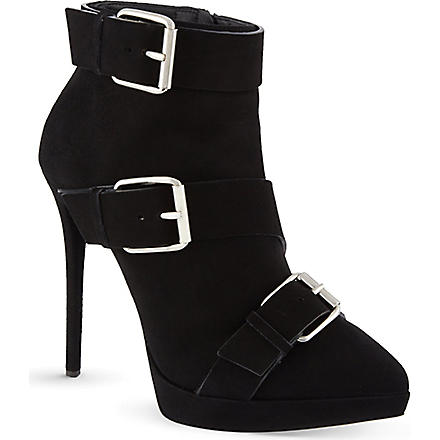 GIUSEPPE ZANOTTI Stockdales suede ankle boots (Black