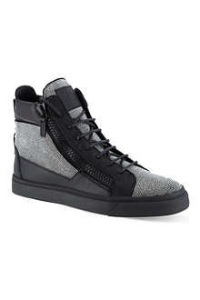 GIUSEPPE ZANOTTI Willowbrook hi-top trainers