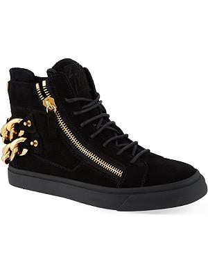GIUSEPPE ZANOTTI Woodside hi-top sneakers