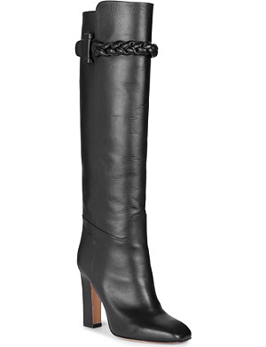 VALENTINO Tall leather boots