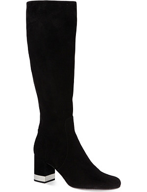 SAINT LAURENT Babies knee-high boots