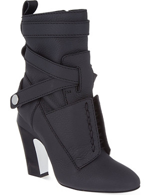 FENDI Diana ankle boots