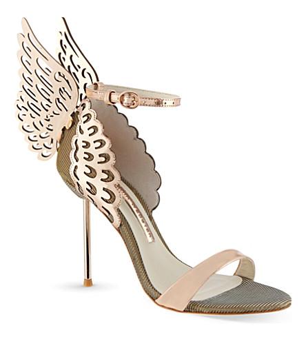 SOPHIA WEBSTER Evangeline heeled sandals (Gold
