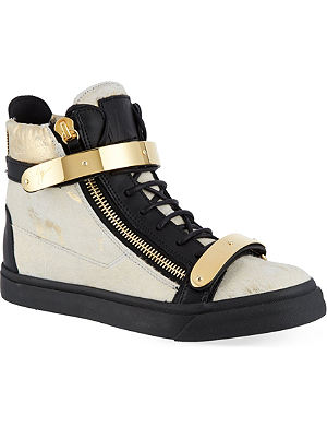 GIUSEPPE ZANOTTI Double buckle sneakers