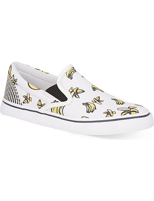 SOPHIA WEBSTER Adele slip on trainers