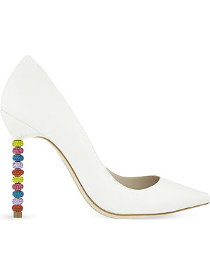 SOPHIA WEBSTER Coco crystal court shoes
