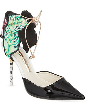 SOPHIA WEBSTER Roussea point 100 court heels