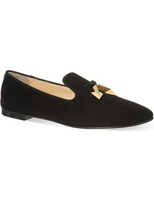 GIUSEPPE ZANOTTI Morocco suede slippers