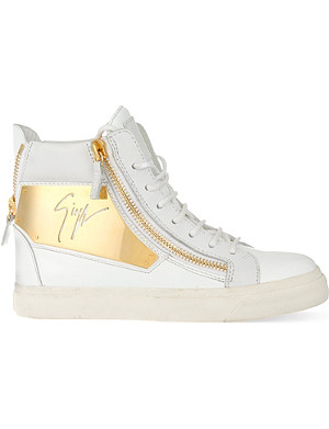 GIUSEPPE ZANOTTI Algeria side panel high-top trainers