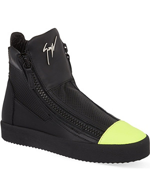 GIUSEPPE ZANOTTI Monrovia leather high-top trainers