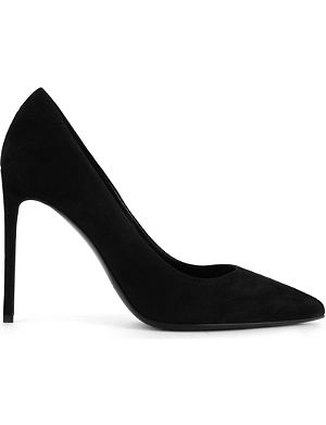 SAINT LAURENT Paris skinny court shoes