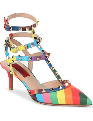 VALENTINO Rockstud 1973 65 heeled sandals