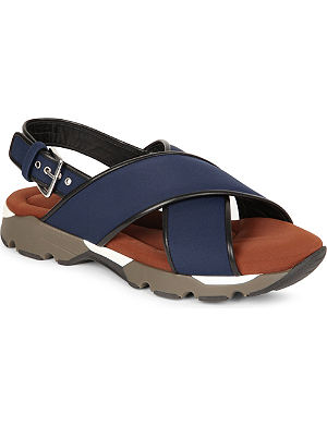 MARNI Standlake cross-over sandals