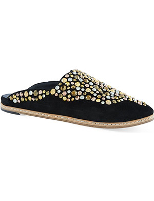 GIUSEPPE ZANOTTI Como backless slippers