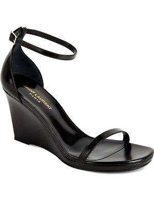 SAINT LAURENT Jane 85 wedge sandals