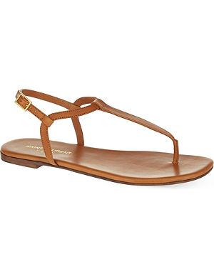SAINT LAURENT Nu pied simple thong sandals