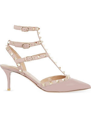 VALENTINO Rockstud 65 t-bar heeled sandals