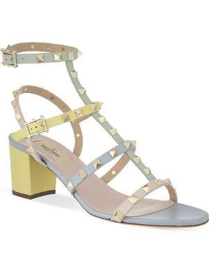 VALENTINO Watercolour gladiator sandals