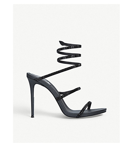 RENE CAOVILLA Cleo leather sandals (Black