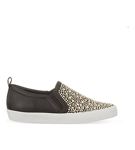 GINA Gioia embellished trainers (Blk/other