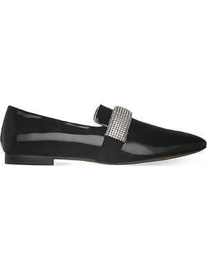 CHRISTOPHER KANE Crystal band loafers