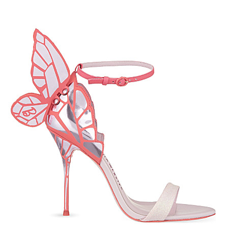 SOPHIA WEBSTER Barbie Chiara heeled sandals (Pink