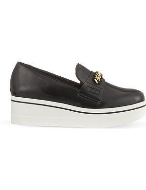 STELLA MCCARTNEY Binx chain platform loafers