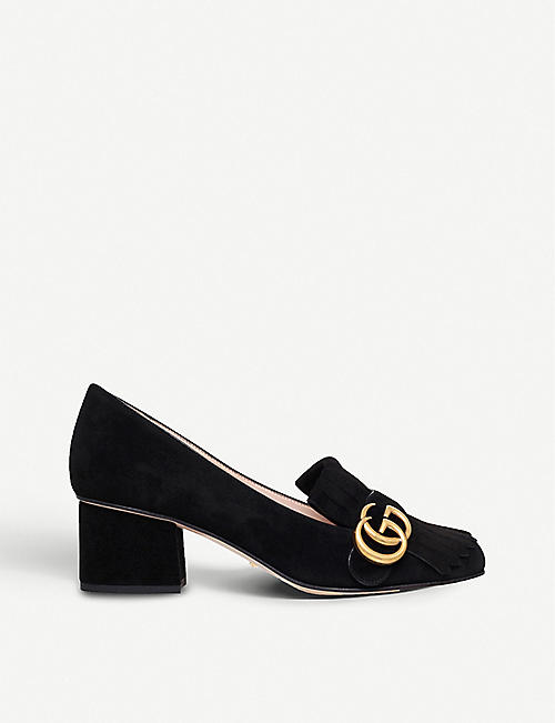 Loafers for Women On Sale, Black, Leather, 2017, 3.5 4 4.5 Gucci