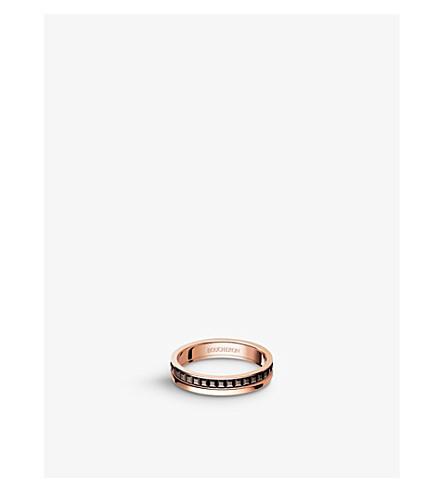 BOUCHERON 四 Classique 18ct 粉红色-金色婚礼带