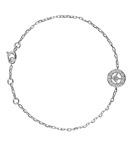 BOUCHERON Ava 18ct white-gold and diamond bracelet