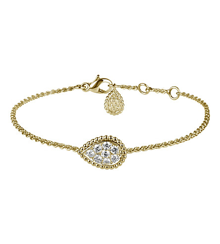 BOUCHERON Serpent Boheme 18ct yellow-gold and diamond bracelet
