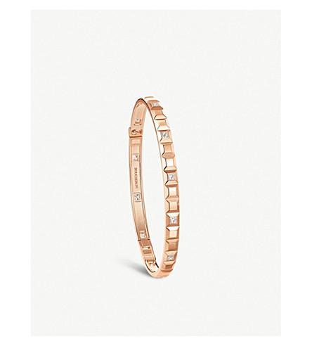 BOUCHERON Quatre Clou de Paris 18ct yellow-gold bracelet