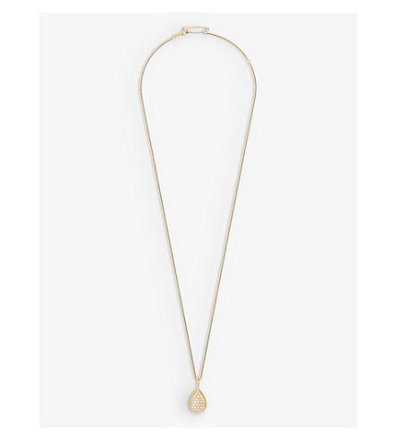 BOUCHERON 蛇 boh 18ct 黄金钻石项链