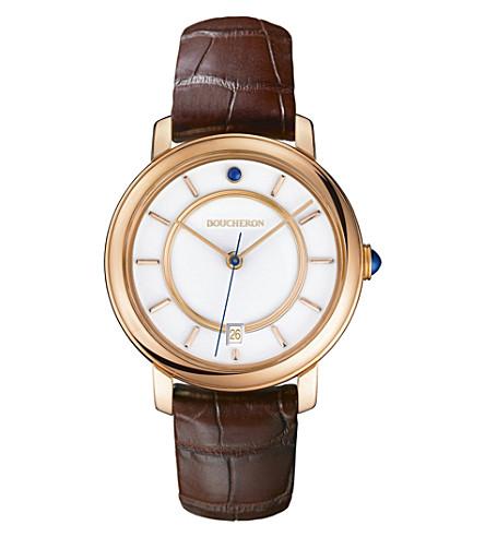 BOUCHERON Epure pink gold watch