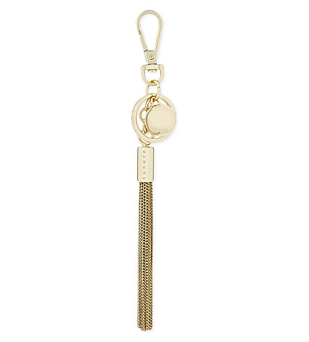 SANDRO Tassel keyring (Multi-color
