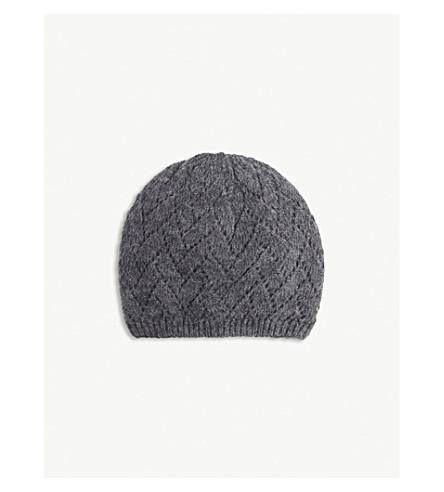 SANDRO 金属毛线帽 (灰色
