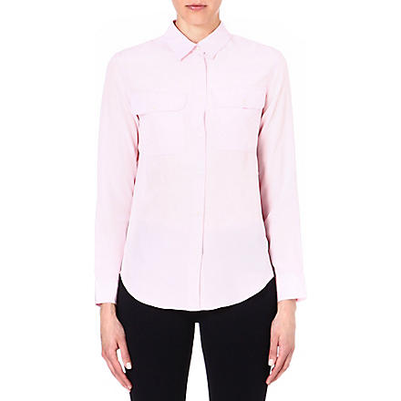 SANDRO Chanson long sleeve top (Pink