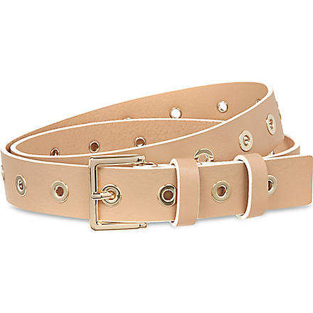 SANDRO Atlanta rivet belt (Sand