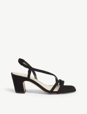 Mae leather block heel sandals(7789877)