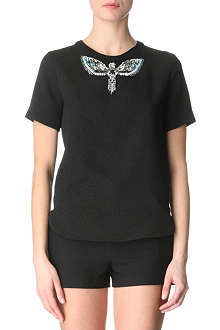 SANDRO Embellished top