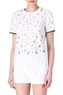 SANDRO Eden lace top