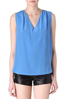 SANDRO Entrelacer laced-back top