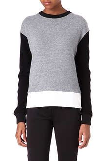 SANDRO Exception knitted jumper