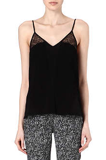 SANDRO Elle lace top