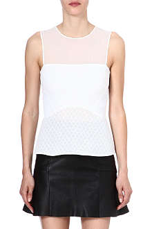 SANDRO Epanouie sleeveless top