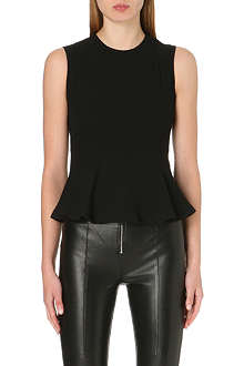 SANDRO Earl sleeveless woven top